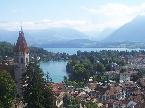 Thun and the Thunersee