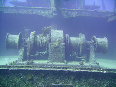 Hermes Wreck (Can't Equalize) Tags: ocean water coast diving shipwreck bermuda storms
