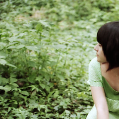 the sound of summer silence ... (lian) Tags: summer green film memory hangzhou lian contaxg1 fujisuperia100 harni swamsprite carlzeissplanart245 聽夏。
