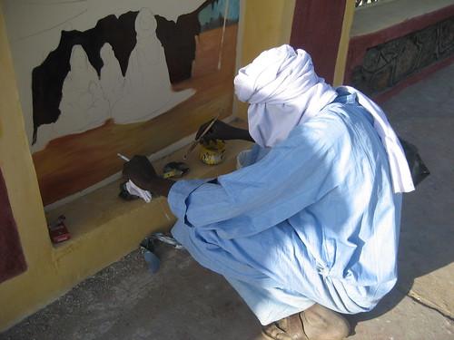 peintres du desert a tamanrasset