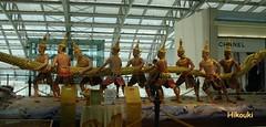 49 gods (ichigo747) Tags: airport bangkok asuras suvarnabhumi samudramanthan