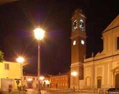 Arluno Piazza pozzobonelli Chiesa (Arlunowebgarret) Tags: milano chiesa campanile luci piazza colori piazzale lombardia notturno arluno