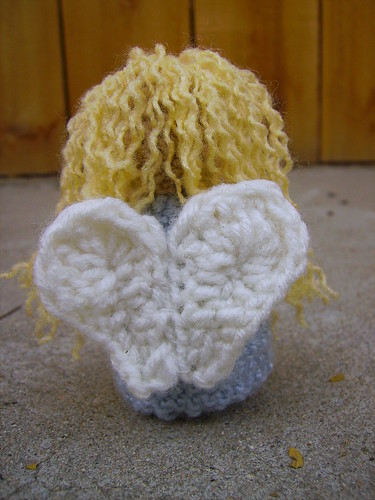 Back of Angel Amigurumi