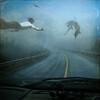 Driving by the sea (riopel2dali) Tags: hourofthesoul atqueartificia dreamybizarrefantasy