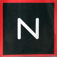 letter N (Leo Reynolds) Tags: canon eos iso100 n letter nnn f56 oneletter 70mm 0ev 40d hpexif 0011sec grouponeletter letterwhite xsquarex xleol30x xratio1x1x xxx2008xxx