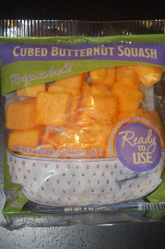package of prepared butternut quash