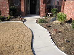 Before Front Walk (Impressive Restorations) Tags: oklahoma oklahomacity concreteart concretedesign impressiverestorations concreteresurfacing permacrete danielware jorgeware stephanieware paulaamold wwwimpressiverestorationscom 4058245910
