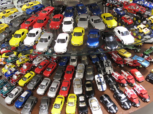 ミニカー売り場