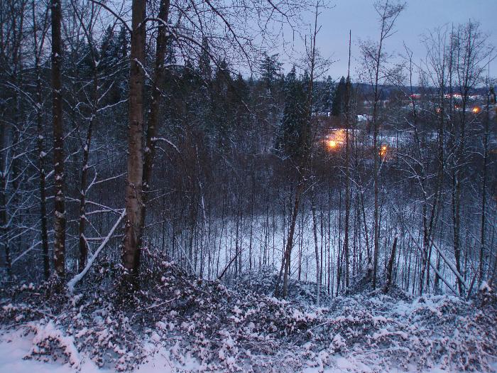 lunta takapihalla 211208