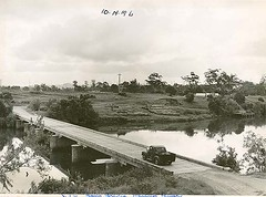 Crossing Bain's Bridge, Wauchope