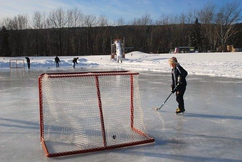 Ice hockey season hockey season bantam house hockey for Patinage exterieur quebec