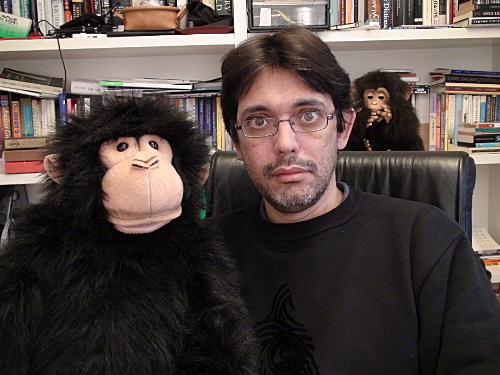 Chimp and me