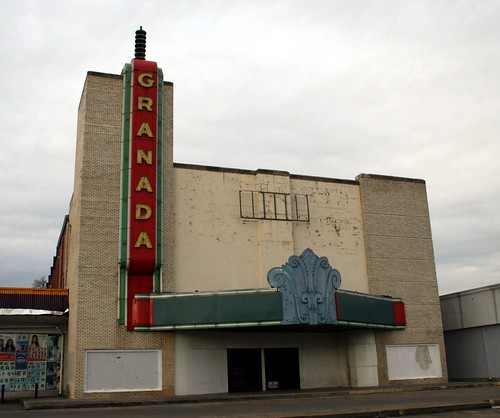front view of granada theater