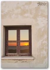 Ventana en Santa Catalina (Cádiz) (Alberto Jiménez Rey) Tags: santa sunset sol window de ventana la catalina cybershot alberto rey lucia puesta martinez castillo caleta tapia jimenez dsct200