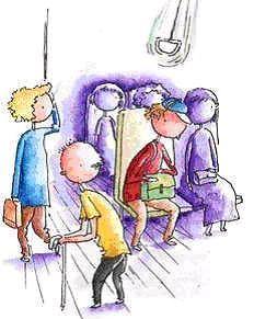 而當你下定決心走向別處,剛才那個座位的人卻正好離開。