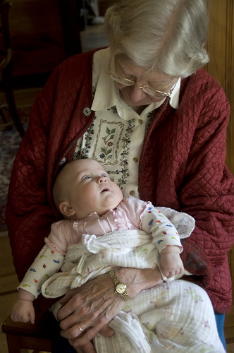Grandma and Katie Rose