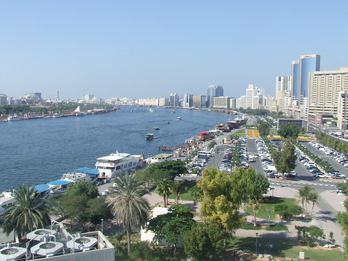 Dubai Creek and City