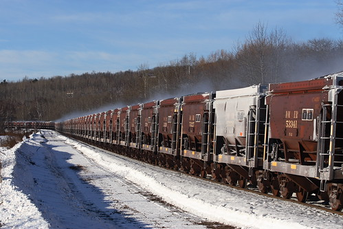 Steamy Ore Cars at MP3