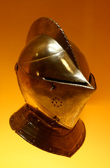 Helmets (GregPC) Tags: ar steel masks knights armor protection worcester helmets higginsarmory