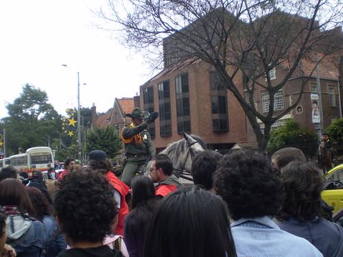 Marcha apoyo a Palestina / Gaza en Bogotá, Colombia - 20090106 - 1061814