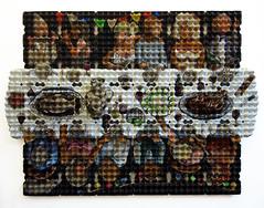 Village party (Enno de Kroon) Tags: holland art topf25 dutch amsterdam topv2222 modern paper easter design rotterdam topv555 500v20f arte recycled topv1111 recycledart unusual provence recycle reciclagem pintura cubist eggcarton reuse reciclaje eggcrate cubista cubism cubismo 3dpainting pittura jourdefte ricreazione eggcartons cubisme kubismus upcycle rcupration schilderkunst recyclingart eiercubisme eierkubismus eggcubism eierdoos eggtray