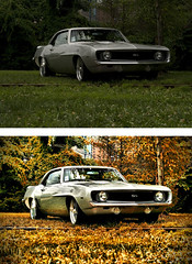 Camaro SS - Before & After (crashmattb) Tags: photomanipulation beforeafter canonef50mm18ii canoneosdigitalrebelxti photoshopcs3