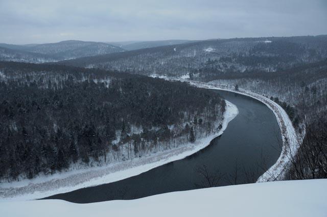 View toward Pennsylvania from Jensen Ledges