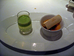 Gordon Ramsay at Royal Hospital Road - Crme brle and apple juice (Food Snob) Tags: food london restaurant michelin snob restaurantreview gordonramsay foodsnob royalhospitalroad restaurantgordonramsay michelin3 gordonramsayatroyalhospitalroad