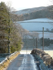 Scottish Borders in Winter