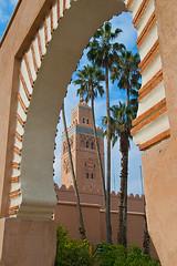 Koutoubia (Paul in Japan) Tags: tower minaret mosque morocco marrakech marrakesh koutoubia