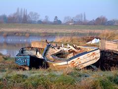 Adrift on a sea of grass -05 (Plbmak) Tags: old abandoned overgrown river boat rusty wreck derelict deserted ih ruined oltusfotos einseinszehn topolbellezasinvitedonly mygearandmepremium mygearandmebronze mygearandmesilver mygearandmegold mygearandmeplatinum mygearandmediamond