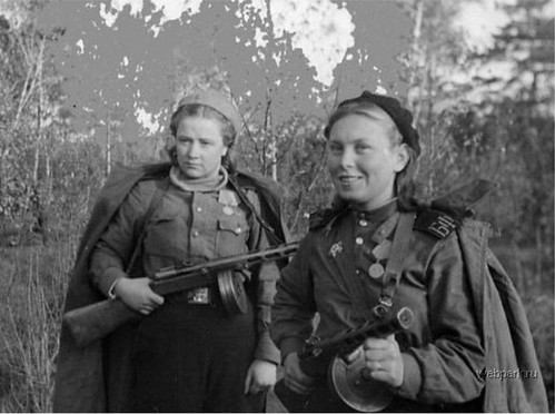 Options Russian Woman Soldier 13