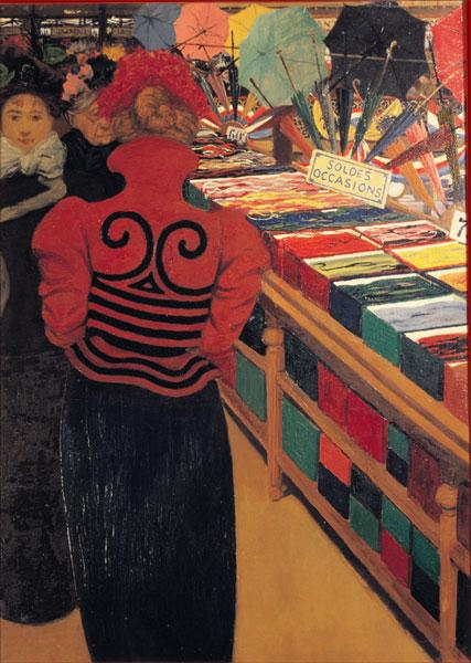 Felix Vallotton, Le Bon Marché, 1898