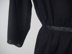 Franck Black Cotton Top