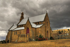 ST PATRICK'S CHURCH - COLEBROOK - TASMANIA - AUSTRALIA - HDR (Stephan Roletto) Tags: color church animal animals st canon landscape eos mark patrick frog ii 1d hdr  phyllomedusa tomopterna aplusphoto top20travelpix