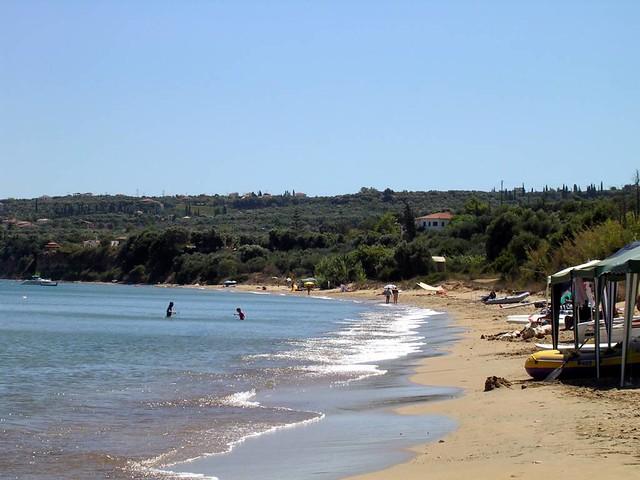 Πελοπόννησος - Μεσσηνία - Δήμος Κορώνης Περούλια-Παραλία κάτω από το χωριό Βουνάρια