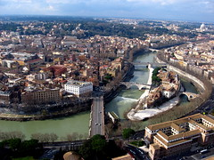 Pictures from a Kite Over Rome Italy (Wind Watcher) Tags: italy kite rome photography aerial kap dopero windwatcher chdk