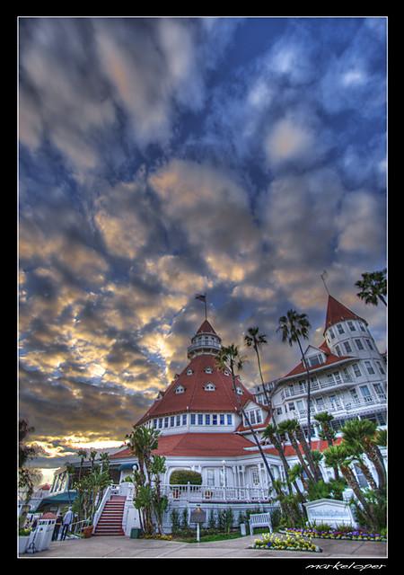 Hotel del Coronado .:HDR:. by markeloper photography