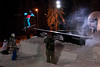 Polish Freeskiing Open 09 - night rails