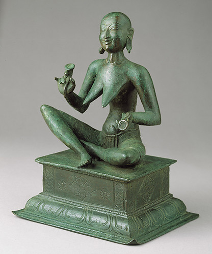 020-Estatua de Karaikkal Ammaiyar- Periodo Chola-finales s. 13-India- Copyrigth © 2000-2009 The Metropolitan Museum of Art