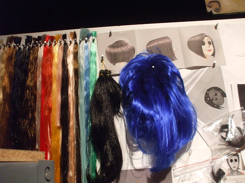 Coraline premiere - the hair design workshop at the after-party