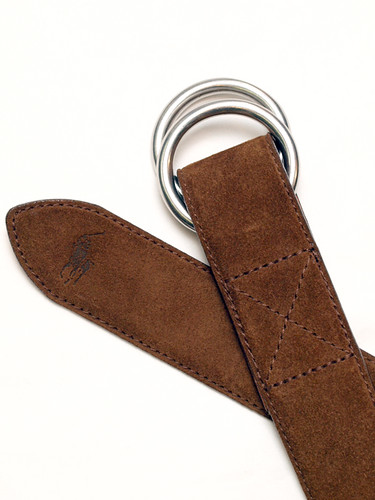 Ralph Lauren / Suede Ring Belt