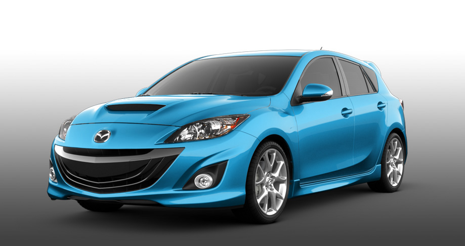 Mazda 3 front-wheel drive vehicle