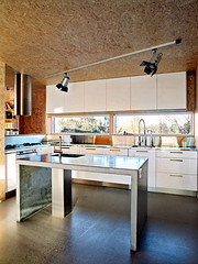 Triangle House design kitchen interior
