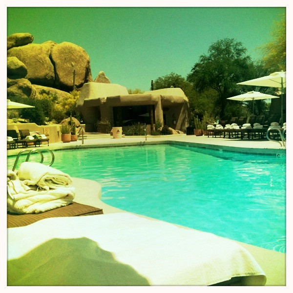 AZ vacation, 2011.  The Boulders Pool