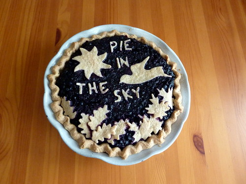 Blueberry Pie In The Sky