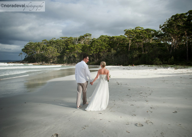 Jervis Bay Beach wedding 155