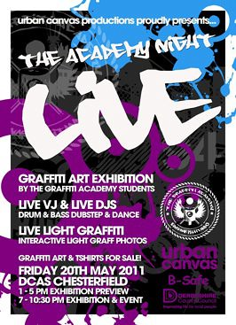 Graffiti Academy Live Poster by thedropinn