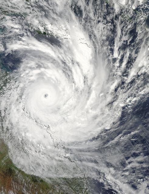 Tropical Storm Yasi, February 2011