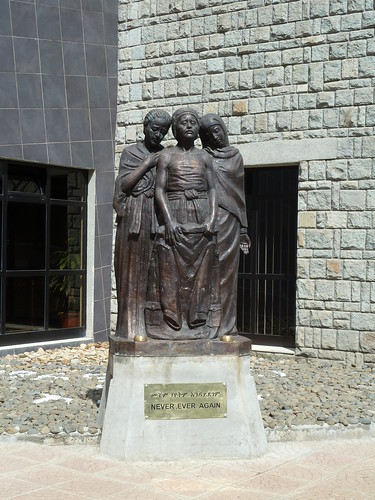 Estatua en el Museo de los Mártires del Terror Rojo (Addis Abeba)